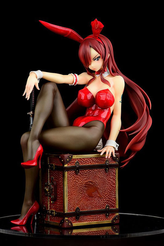 FAIRY TAIL エルザ・スカーレット Bunny girl_Styletype rosso 16 完成品フィギュア (1).jpg