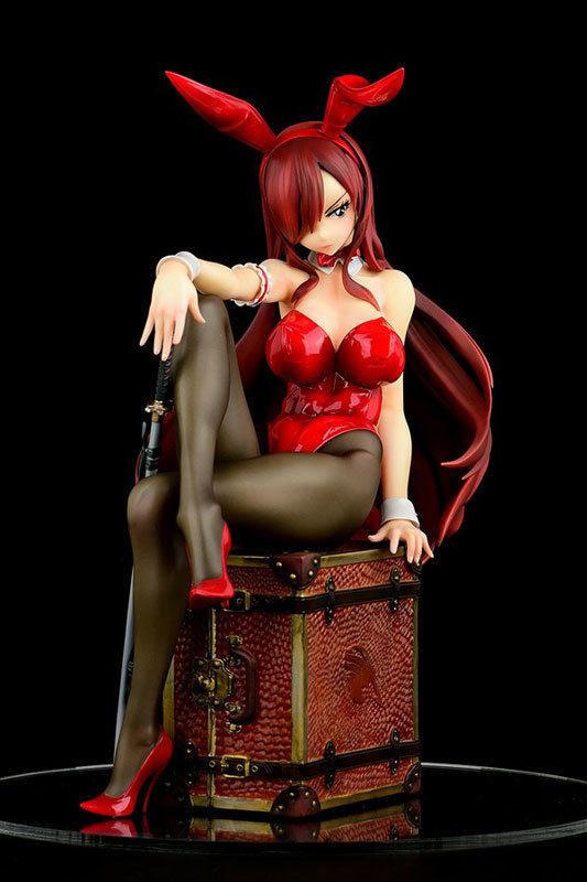 FAIRY TAIL エルザ・スカーレット Bunny girl_Styletype rosso 16 完成品フィギュア (2).jpg