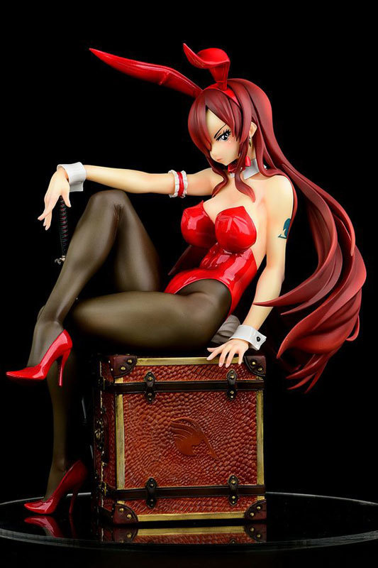 FAIRY TAIL エルザ・スカーレット Bunny girl_Styletype rosso 16 完成品フィギュア (3).jpg