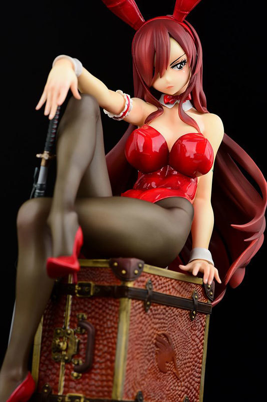 FAIRY TAIL エルザ・スカーレット Bunny girl_Styletype rosso 16 完成品フィギュア (4).jpg