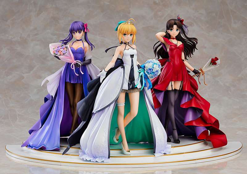 Fatestay night セイバー 遠坂凛 間桐桜 15th CelebrationDress Premium Box 17 (2).jpg